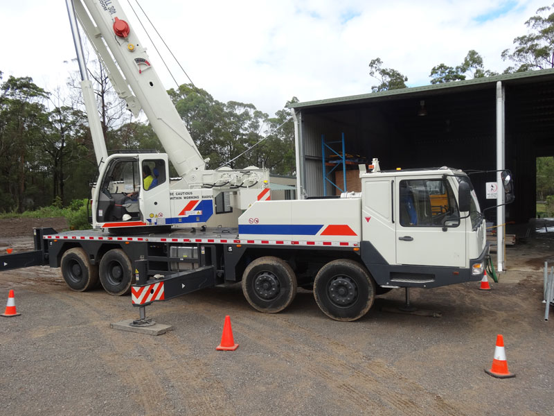 A1 Lift Crane Hire Fleet | Lift Crane Rates, Crane Hire Sunshine Coast